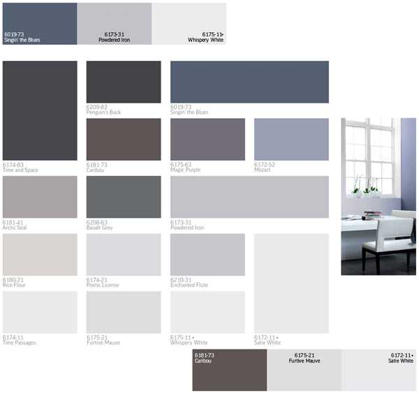 Modern Home Design Ideas Gray: Modern Interior Paint Colors And Home Decorating Color