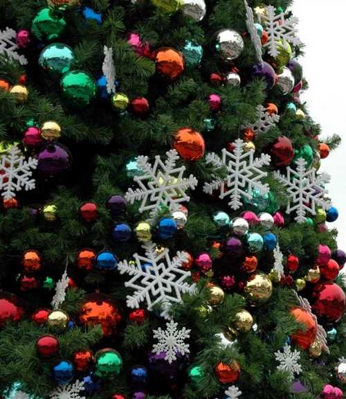 Christmas Tree Colour Schemes 2014: Modern Color Combinations And Ornaments For Christmas Tree