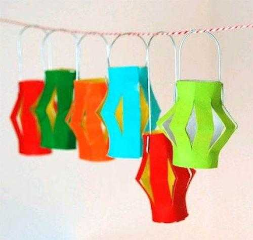 30 Easy Handmade Christmas Decorations Paper Crafts For Green
