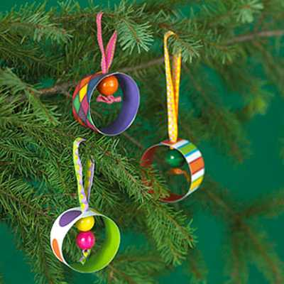30 easy handmade christmas decorations paper crafts for green holiday decor - Childrens Christmas Tree Decorations