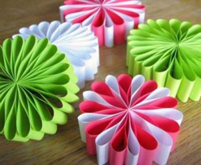creative paper crafts unique handmade christmas decorations - Easy Paper Christmas Decorations