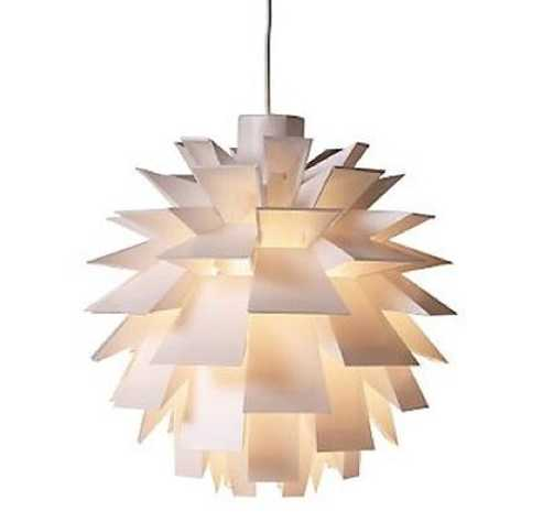 plastic pendant light