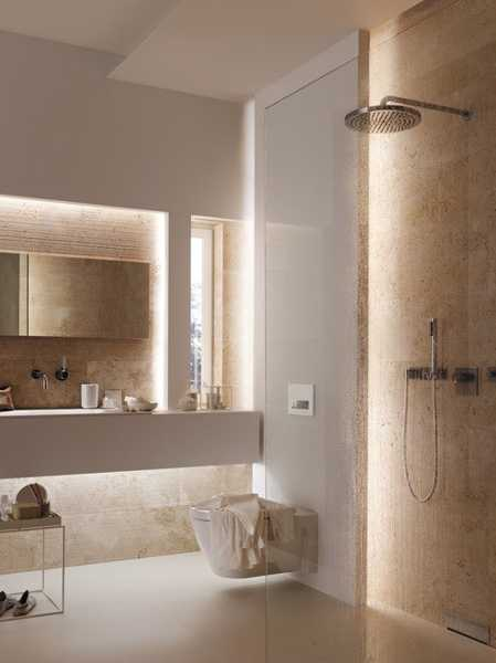 Walk In Shower Designs Ideal Contemporary Bathroom Design