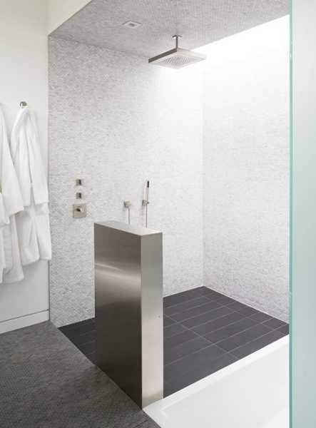 Walk In Shower Designs Ideal Contemporary Bathroom Design