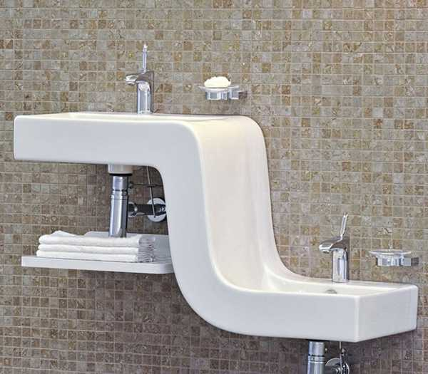 Kids Friendly Bathroom Sinks Family Basin Blending Style