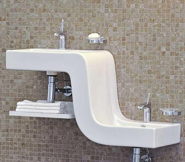 Kids Friendly Bathroom Sinks, Family Basin Blending Style ...