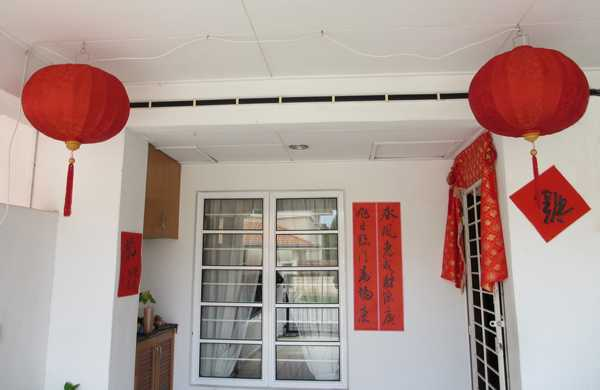 Chinese New Year Decorations, Flower Arrangements and ...