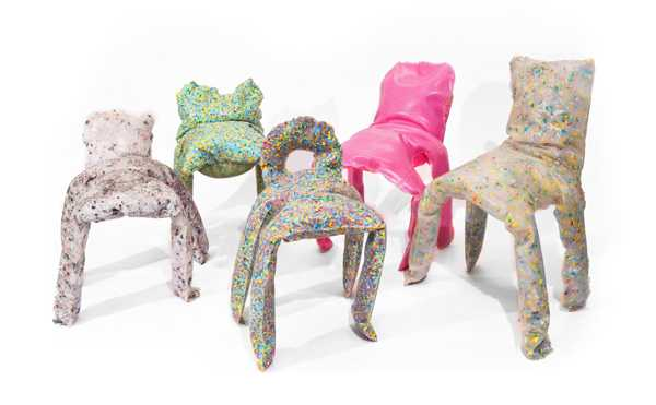 plastic recycling for contemporary chairs