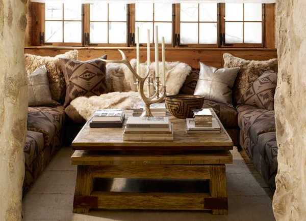 Alpine Country Home Decor Ideas, Rustic Elegance from Ralph ... on luxe home interiors, victoria beckham house interiors, andrew carnegie house interiors, bill gates house interiors, private island house interiors, celine dion house interiors,