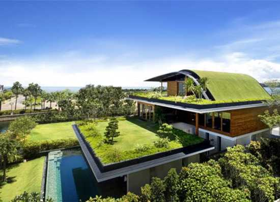 48 Green Ideas Adding Grass To Modern House Design And Interior Fascinating Green Homes Designs Style