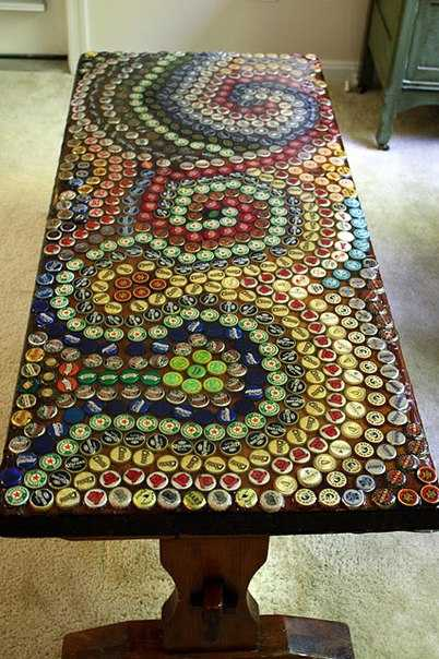 10 Craft Ideas Recycling Bottle Caps For Handmade Decorations