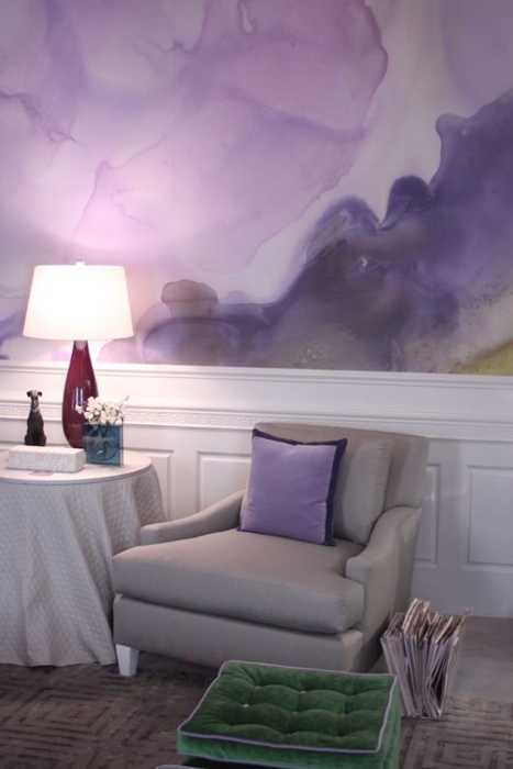 Purple Interior Colors Wall Decoration And Home Accessories In Color Look Gorgeous With White Green Living Room Furnishings