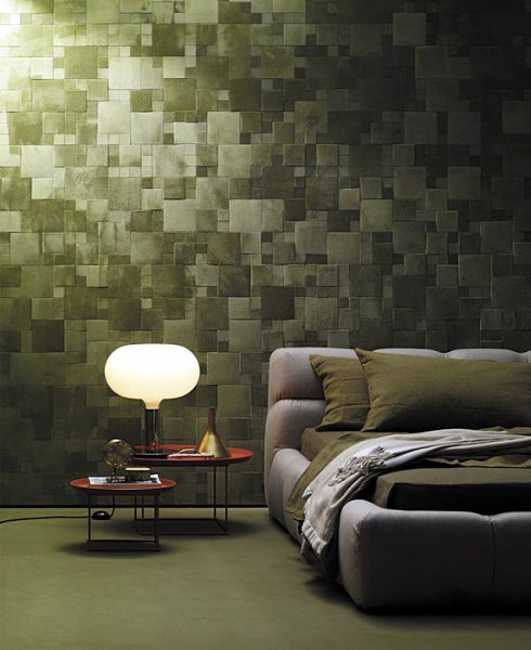Leather Wall Tiles And Decorative Paneling Adding Chic Wall Designs Extraordinary Decorative Tiles For Bedroom Walls