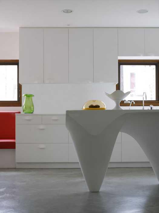 unusual kitchen island design