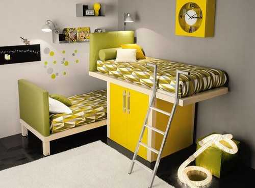 Selecting Beds for Kids Room Design, 22 Beds and Modern Children