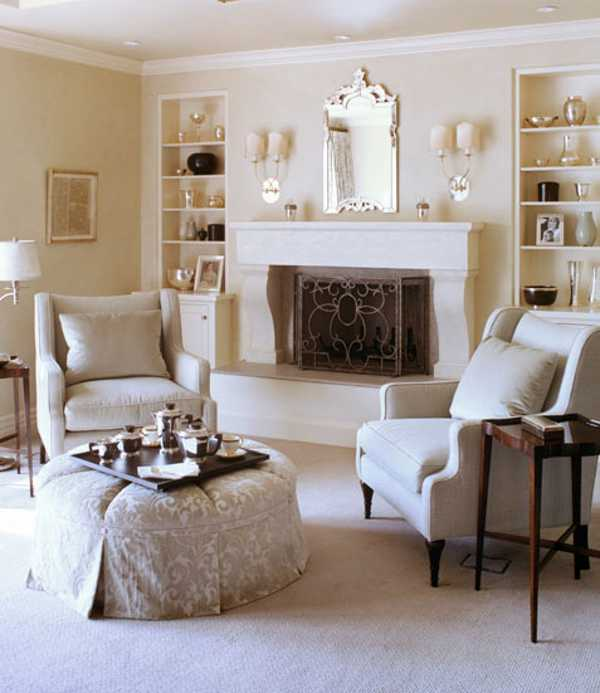 Classic Living Room Fireplace Ideas Decoration