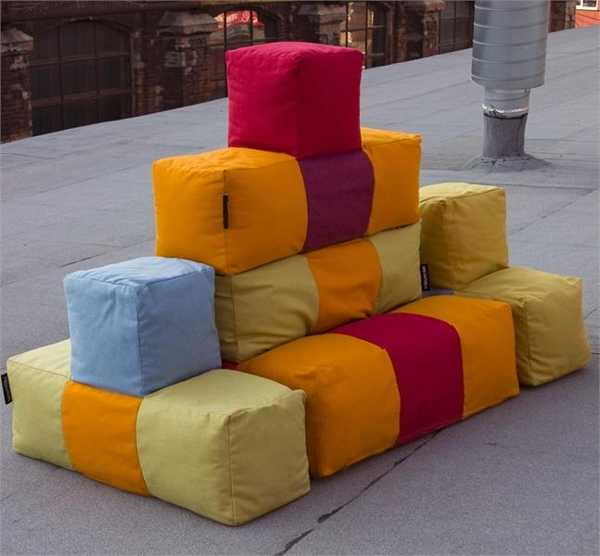 Colorful Kids Room Design: 20 Gorgeous Poufs For Creative And Colorful Kids Room
