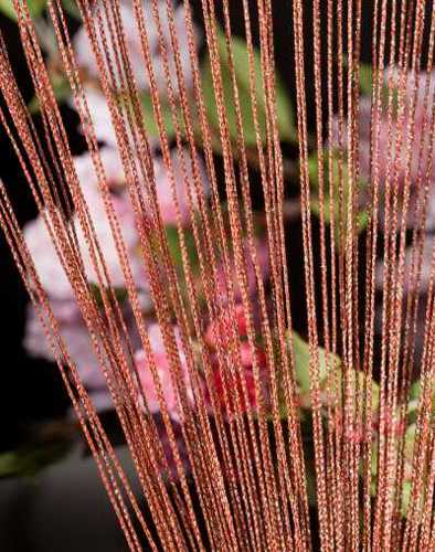 natural rope rain curtain