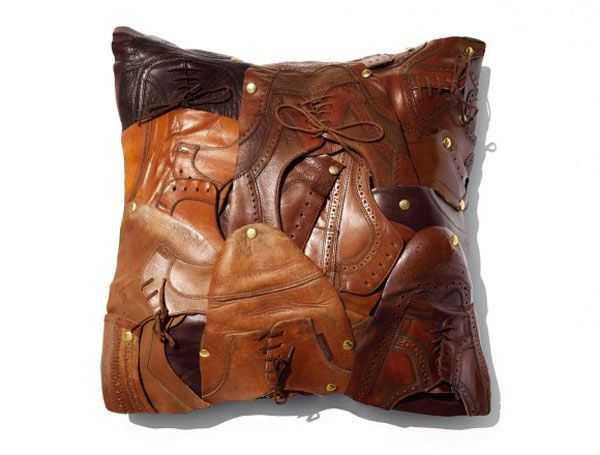 Amazing Handmade Home Decorations Recycling Leather Scraps