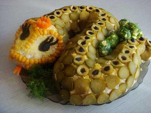 Snake Shaped Food Fun Design Ideas For Lunar New Year Celebration