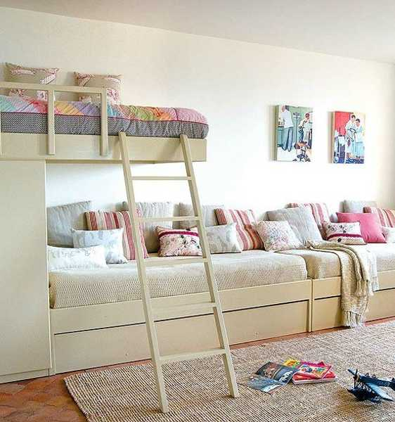 Kids Desire And Kids Room Decor: 30 Kids Room Design Ideas With Functional Two Children