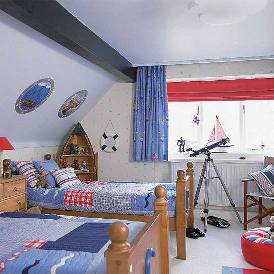 Tiny Yard Concepts To Make The Most Of A Little Room: 30 Kids Room Design Ideas With Functional Two Children