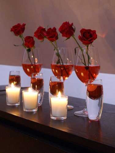 20 Romantic Candles Centerpieces For Valentines Day Table