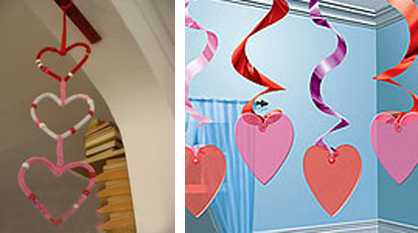 Valentines Day Ideas For Decorating Ceiling Pendant Lights Or