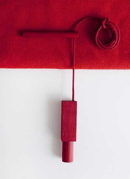 diy kit with curtain cord and pegs