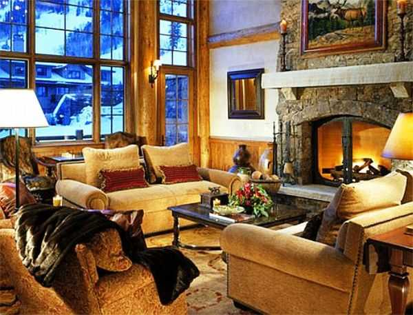 22 cozy winter decoration ideas room colors and decor accessories for warm winter decorating for Warm decorating ideas living rooms