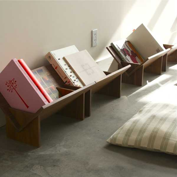 small book shelves, space saving ideas and desk organizers