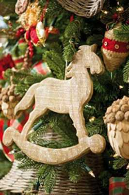 wooden ornaments for christmas tree decorating