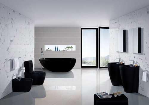 Black White And Grey Bathroom Ideas