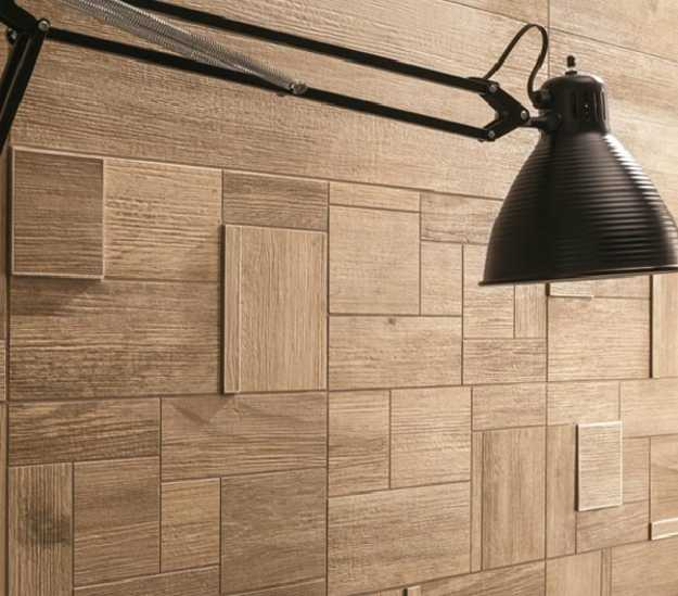 Modern Ceramic Tiles With Wood Look Offer Practical And