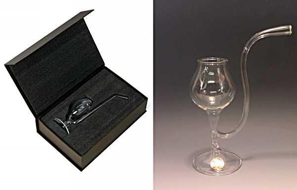 Modern Tableware Design Idea Brandy Pipe Reinventing Classic Glass