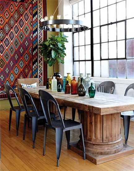 30 Amazing Design Ideas For A Kitchen Backsplash: 5 Loft Living Space Design And Decorating Ideas By Sarah