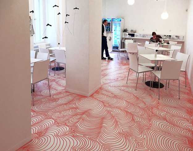 interior design with floor drawings