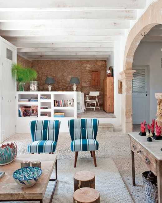 Modern Interior Design And Decorating In Mediterranean Style