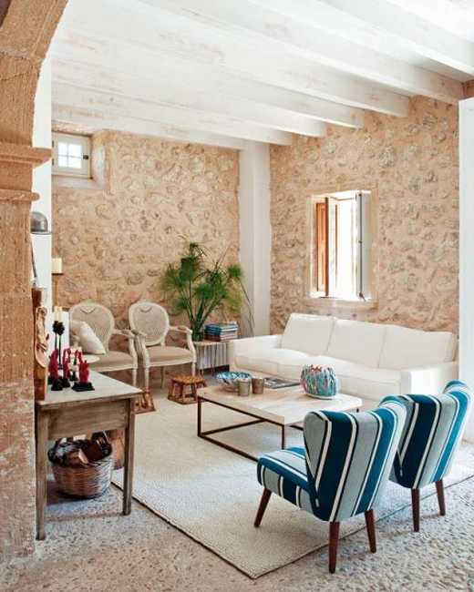 Modern Interior Design and Decorating in Mediterranean Style ...