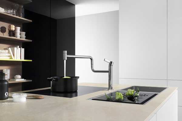 rotating 360 degrees kitchen faucet for modern kitchen islands
