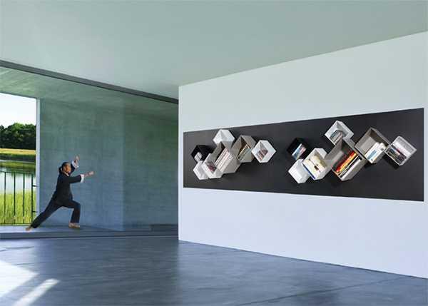 Brand new Wall Shelves Magnetic Spirit Introduce Innovative Modular Shelving  TM82