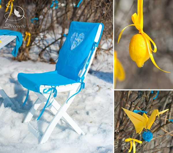 Bright Yellow Blue Color Scheme And Fun Table Decoration Ideas For