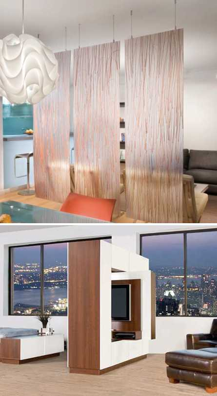 Interior Design Room Dividers: Room Dividers And Partition Walls Creating Functional And