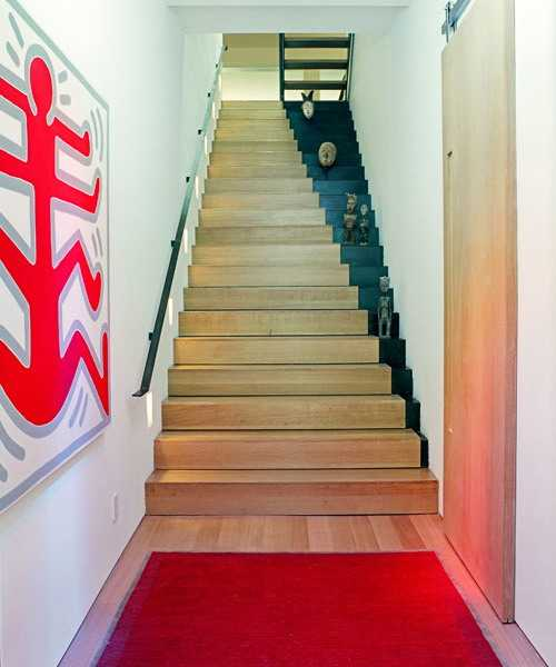 Staircase painting ideas transforming boring wooden stairs - Cool designs to paint ...