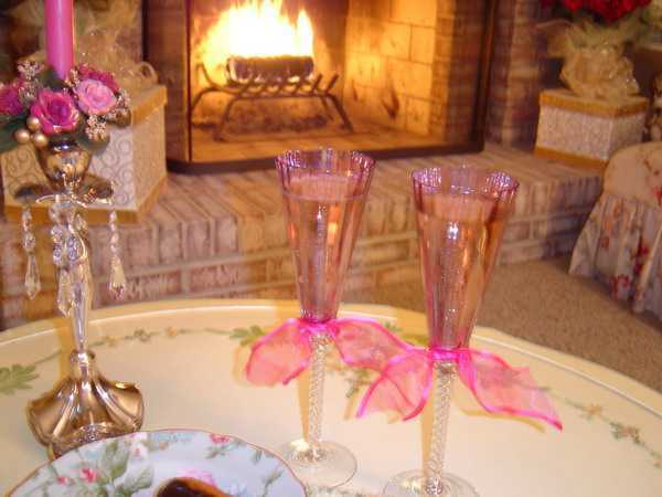 valentines day ideas for romantic dinner table decoration
