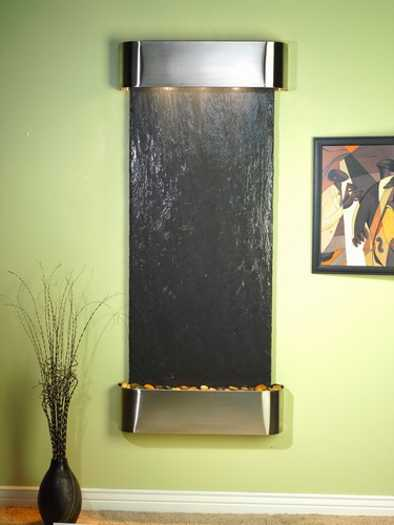 wall fountain and painting for modern wall decoration
