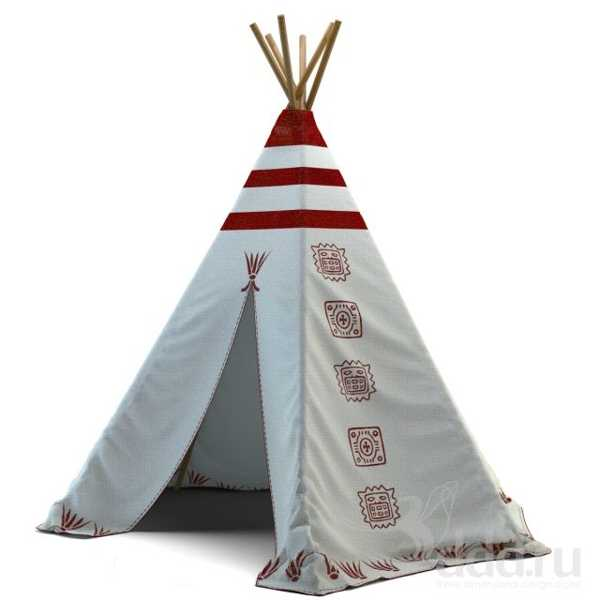 wigwam tent for interior decorating and outdoor rooms