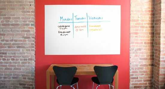 Writable Wall Paint And Functional Painting Ideas For