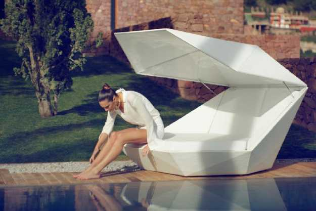 contemporary daybed, outdoor furniture