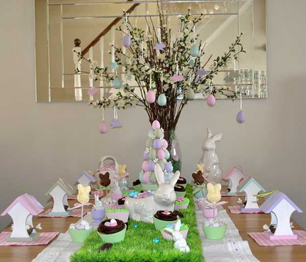 Handmade Easter Tree Decorations Offer Stunning Alternatives To Commercial Easter Ideas